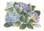 Eva Rosenstand Hydrangea Cross Stitch Kit