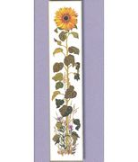 Eva Rosenstand The Sunflower - Linen Cross Stitch Kit
