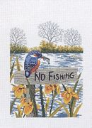 No Fishing - Eva Rosenstand Cross Stitch Kit