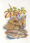 Catch of the Day - Eva Rosenstand Cross Stitch Kit