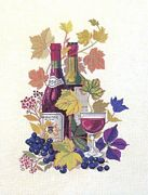 Red Wine - Eva Rosenstand Cross Stitch Kit