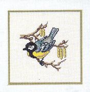 Bluetit - Eva Rosenstand Cross Stitch Kit