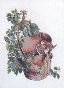 The Water Bucket - Eva Rosenstand Cross Stitch Kit
