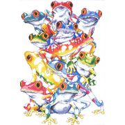 Frog Pile - Design Works Crafts Cross Stitch Kit