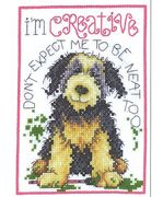 Creative Dog - Design Works Crafts Cross Stitch Kit