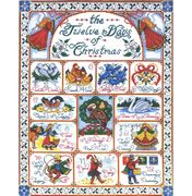 Design Works Crafts 12 Days of Christmas Cross Stitch Kit
