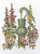 The Waterpump - Aida - Eva Rosenstand Cross Stitch Kit