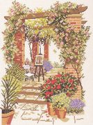 The Artists Garden - Eva Rosenstand Cross Stitch Kit