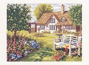 A Peaceful Spot - Eva Rosenstand Cross Stitch Kit