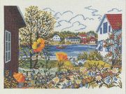 Summer Haven - Eva Rosenstand Cross Stitch Kit