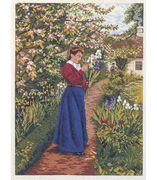 Gathering Flowers - Eva Rosenstand Cross Stitch Kit