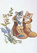 Eva Rosenstand Puss in Boots Cross Stitch Kit