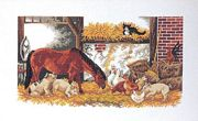 The Barn - Eva Rosenstand Cross Stitch Kit