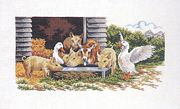 The Water Trough - Eva Rosenstand Cross Stitch Kit