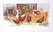 The Hen House - Eva Rosenstand Cross Stitch Kit