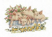 Over the Wall - Eva Rosenstand Cross Stitch Kit