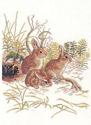 Eva Rosenstand Rabbits Cross Stitch Kit