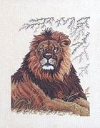 Eva Rosenstand The Lion Cross Stitch Kit