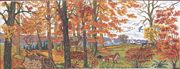 Eva Rosenstand Autumn Woodland Cross Stitch Kit