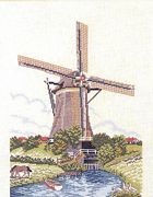 Eva Rosenstand Summer Windmill Cross Stitch Kit