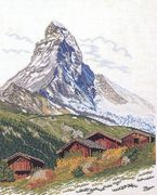 Eva Rosenstand The Chalets Cross Stitch Kit