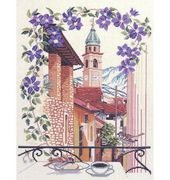 The Balcony - Eva Rosenstand Cross Stitch Kit
