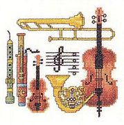 Eva Rosenstand Instruments Cross Stitch Kit