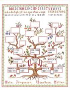 Family Tree Sampler - Eva Rosenstand Cross Stitch Kit