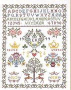 Crown Sampler - Eva Rosenstand Cross Stitch Kit
