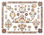 Geometric Sampler - Eva Rosenstand Cross Stitch Kit