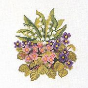 Summer Posy - Eva Rosenstand Cross Stitch Kit
