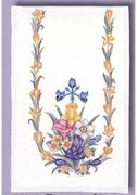 Daffodil Runner - Aida - Eva Rosenstand Cross Stitch Kit