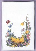 Chicks Table Runner - Eva Rosenstand Cross Stitch Kit