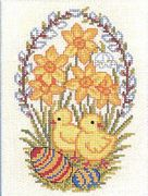 Easter Egg Chicks - Eva Rosenstand Cross Stitch Kit