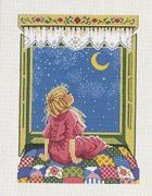 Bedtime Girl - Eva Rosenstand Cross Stitch Kit