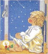 Bedtime Boy - Aida - Eva Rosenstand Cross Stitch Kit