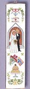 Eva Rosenstand Wedding Bellpull Wedding Sampler Cross Stitch Kit