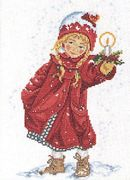 Christmas Light - Eva Rosenstand Cross Stitch Kit