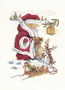 Christmas Dress Up - Eva Rosenstand Cross Stitch Kit