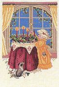 Eva Rosenstand Advent Wreath Cross Stitch Kit