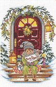 Waiting for Santa - Eva Rosenstand Cross Stitch Kit