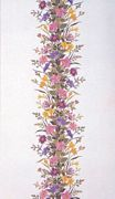 Summer Flower Band Tablecloth - Eva Rosenstand Cross Stitch Kit