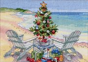 Dimensions Christmas on the Beach Cross Stitch Kit