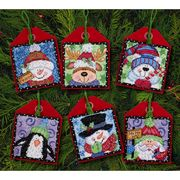 Dimensions Christmas Pals Ornaments Cross Stitch Kit