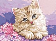 Cute Kitten - Royal Paris Tapestry Canvas