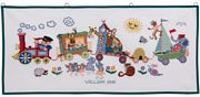 Animal Train - Eva Rosenstand Cross Stitch Kit