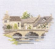 Derwentwater Designs Bourton on the Water - Evenweave Cross Stitch Kit