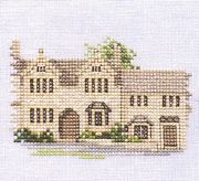 Derwentwater Designs Burford - Evenweave Cross Stitch Kit