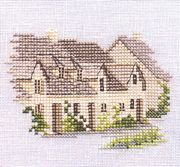 Arlington Row - Aida - Derwentwater Designs Cross Stitch Kit