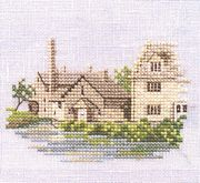 Derwentwater Designs Lower Slaughter - Evenweave Cross Stitch Kit